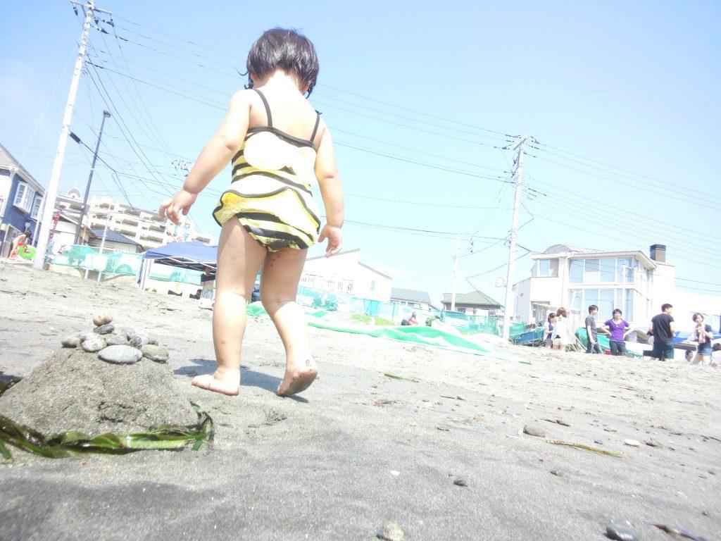ミウラ海岸のリアル娘