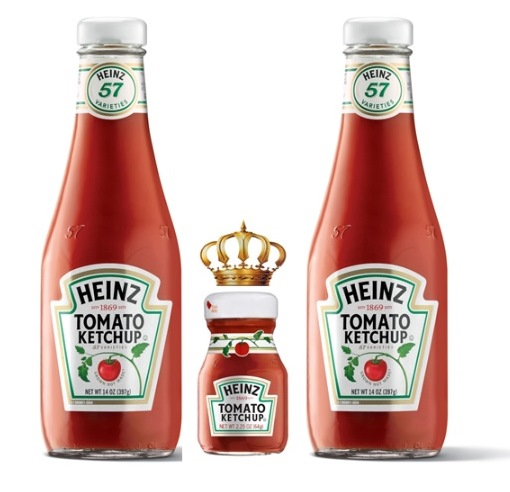 ※Picture:Screen shot of Heinz's Official Facebook Page