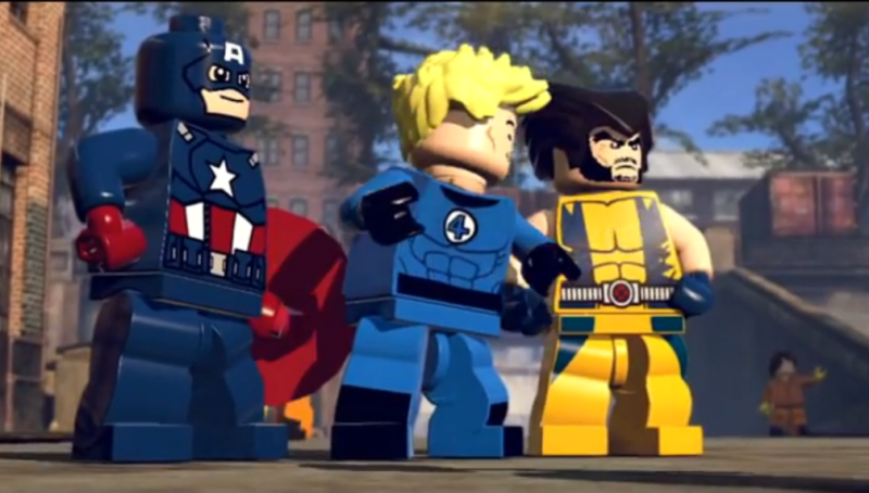 ※Picture:Screen shot of LEGO Marvel Super Heroes Official Trailer