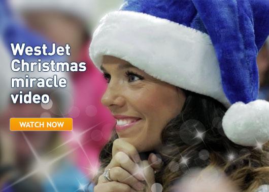 カナダの航空会社「ウエストジェット」の乗客への心温まるクリスマスどっきり企画が大評判!|スゴい★PR