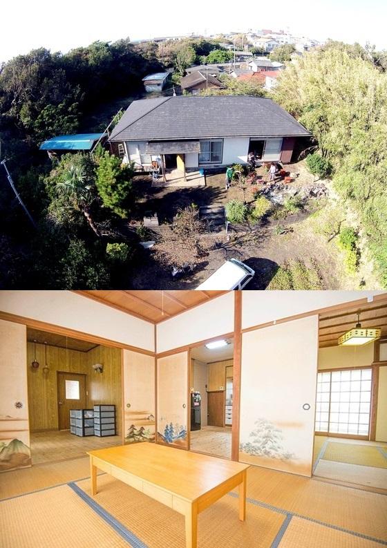 空家をリノベーションした伊豆大島のイタドリハウス。光ファイバーも導入されている。